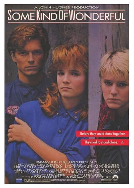 """Una maravilla con clase"" / ""Some kind of wonderful"" (1987): Movie Posters, Awesome Movies Tv, Film, Teen, Favorite Movies, Fav Movies, 80S Movies, Kind, 80 S Movies"