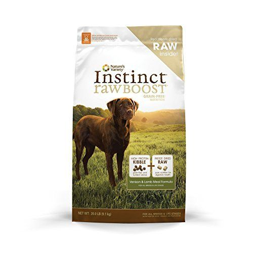 Nature S Variety Instinct Raw Boost Dry Dog Food Venison And