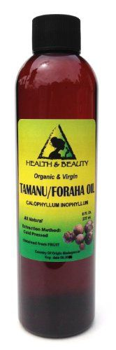 Tamanu  Foraha Oil Organic Pure Cold Pressed 8 oz ** Read more reviews of the product by visiting the link on the image.
