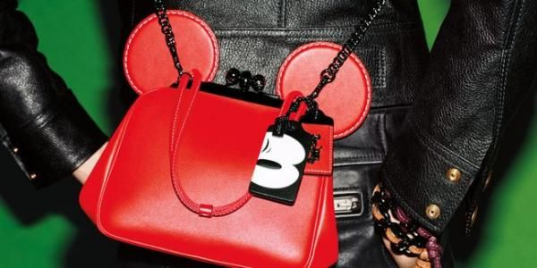 Imut, Coach Rilis Tas Terinspirasi Mickey Mouse