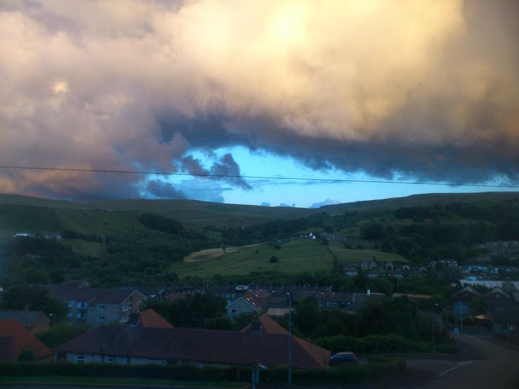 Clouds over Todmorden