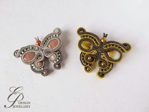 .could use extruded clay strips for the soutache.