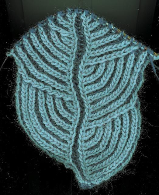 Knitting Nancy Patterns : Hosta brioche scarf by nancy marchant knit knitting