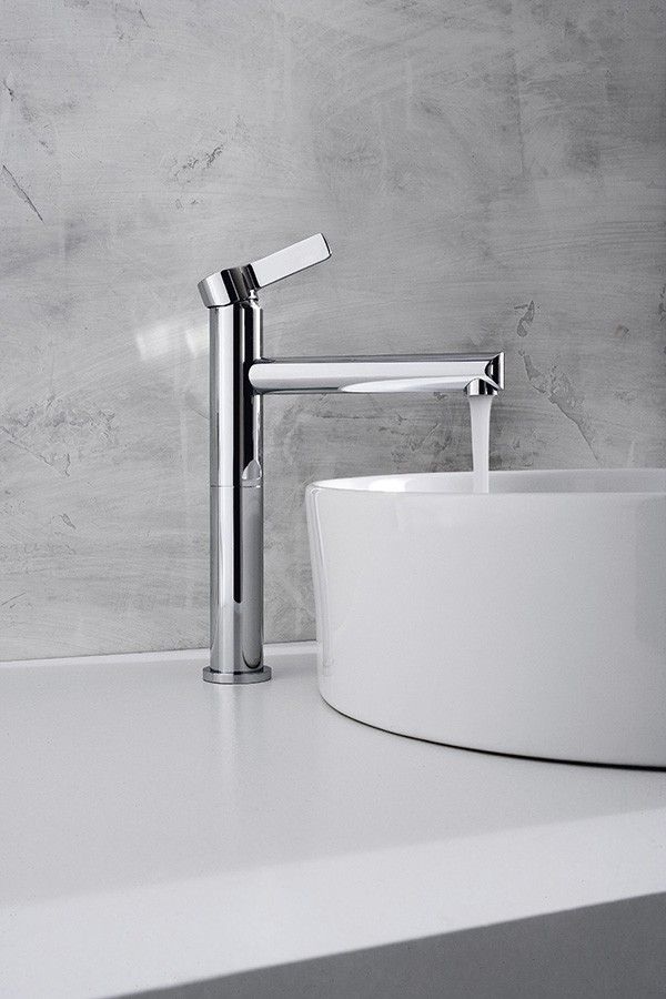 Terra collection, distributed by Inbani. #bathroom #design #tap