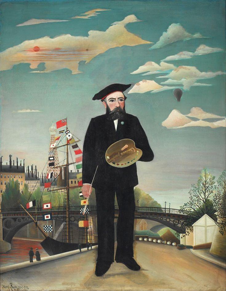 Io, ritratto-paesaggio – 1889 Henri Rousseau.