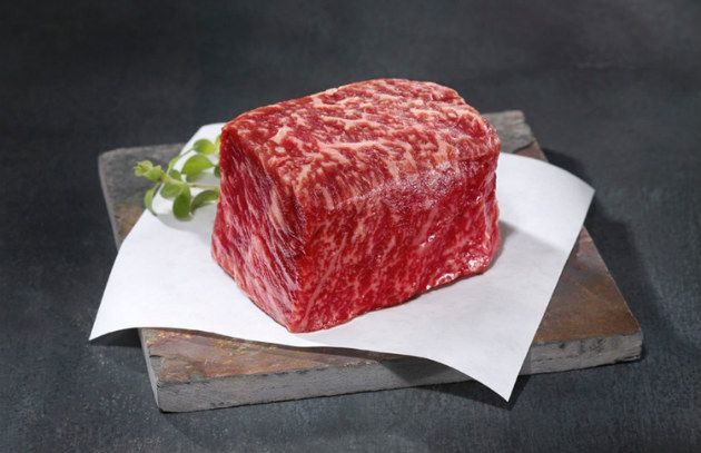A thorough explanation of Japanese Kobe beef (much rarer to find than you think) and Wagyu beef, a Kobe-style American beef.