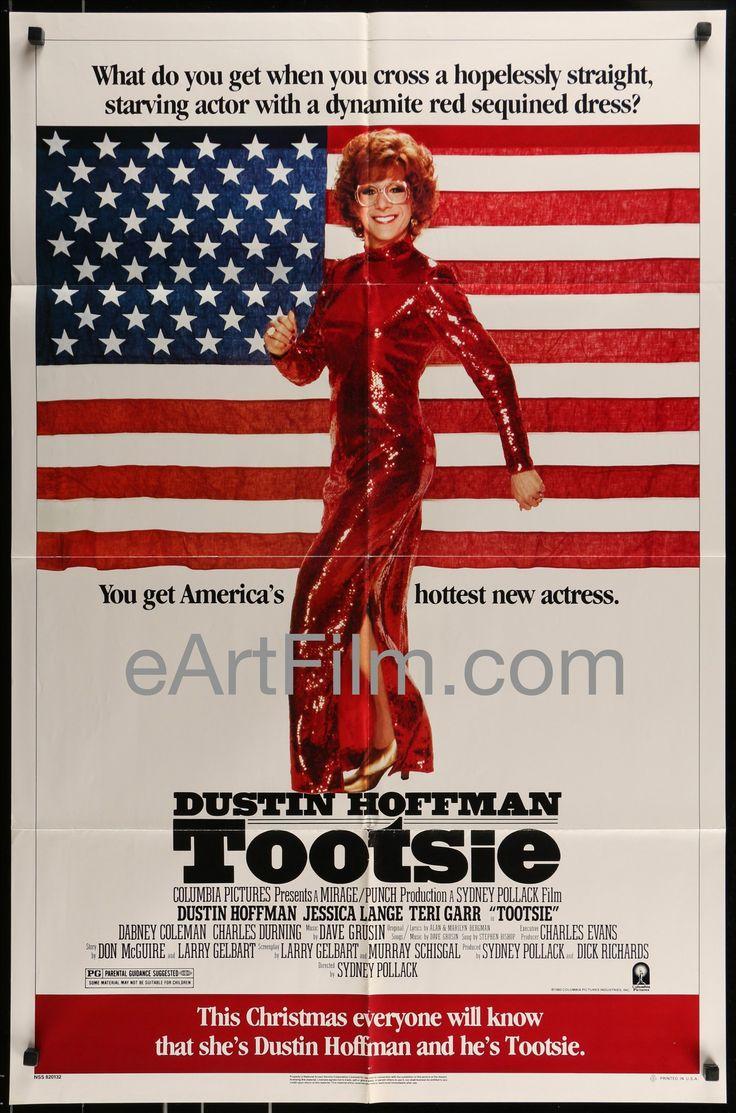 Happy Birthday #DustinHoffman https://eartfilm.com/search?q=dustin+hoffman #actors #acting #TheGraduate #Lenny #MidnightCowboy #Tootsie #Broadway #theater #movie #movies #poster #posters #film #cinema #movieposter #movieposters    Tootsie-Dustin Hoffman-Jessica Lange-Bill Murray-Sydney Pollack-Gena Davis-1982