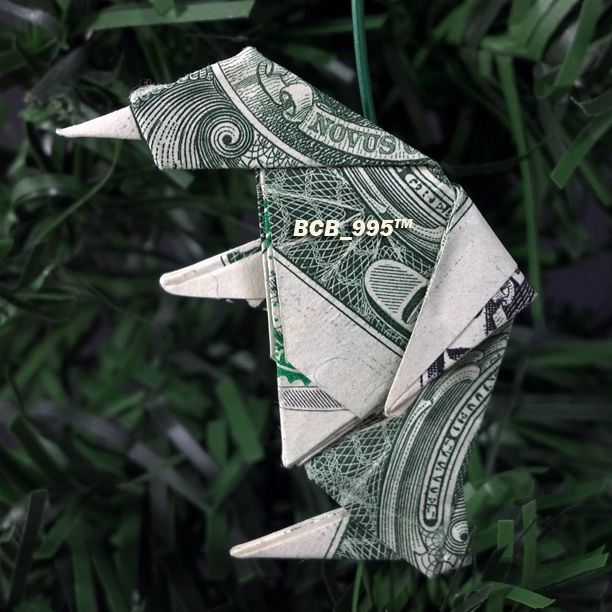 Dollar Bill Origami Christmas Tree: 78 Best $ Origami TREE Ornaments Images On Pinterest