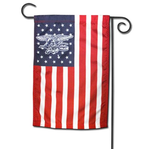 american flag with navy seal trident in stars udt seal store 1 - American Home Decor Stores