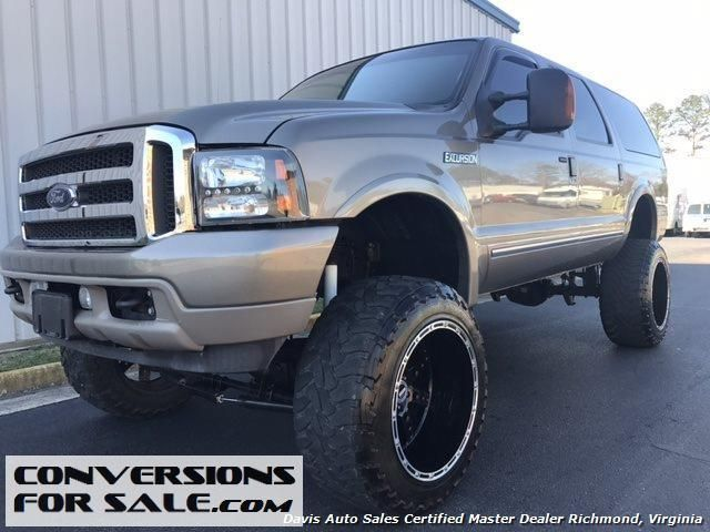 Diesel 2004 FORD EXCURSION Limited Lifted