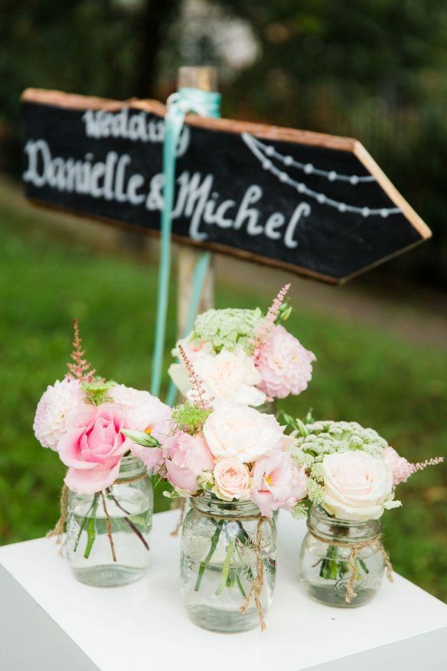 Decoratie met de jampot of mason jar op je bruiloft | ThePerfectWedding.nl