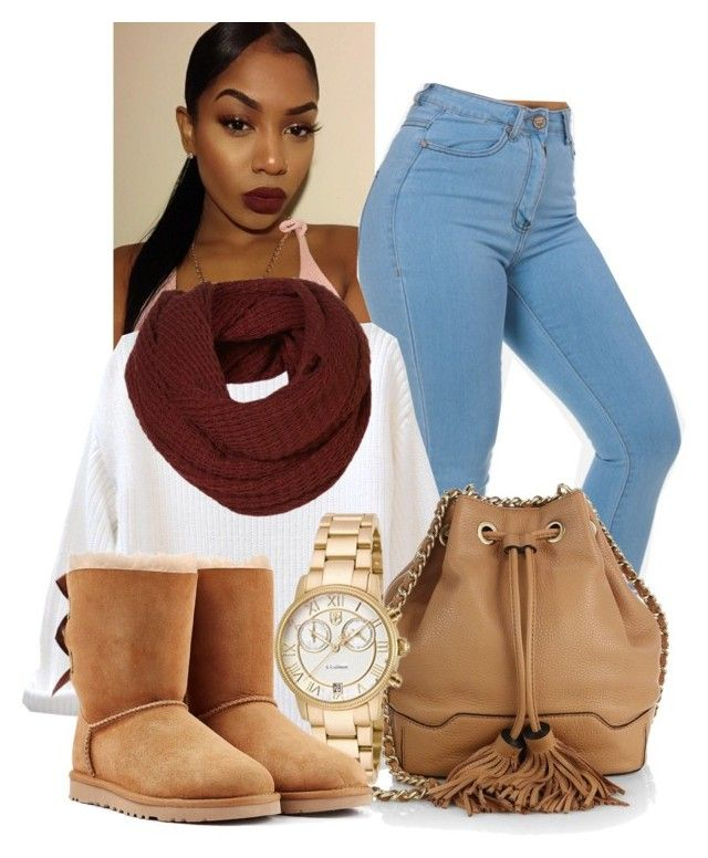 Untitled #272 by laiixo on Polyvore featuring polyvore, fashion, style, UGG Australia, Rebecca Minkoff and S. Coifman