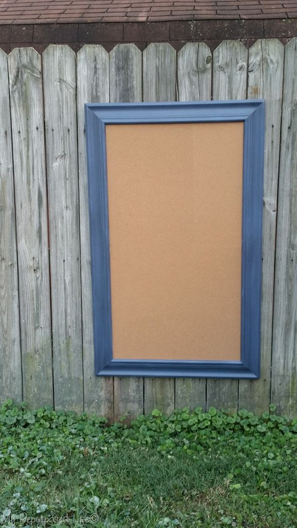 extra large picture frame cork board memo