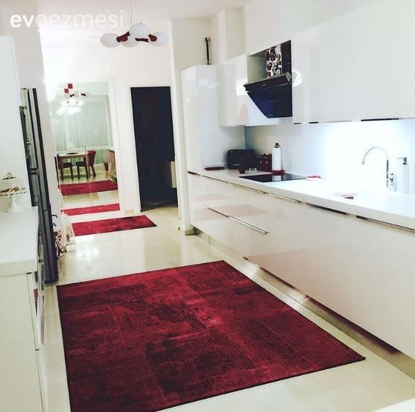 Mutfak, Kırmızı, Beyaz mutfak