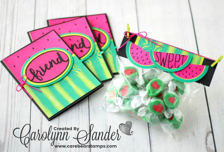 Check out these alternate project ideas using the Stampin' Up! One in a Melon Paper Pumpkin kit (June 2017). Enjoy this Paper Pumpkin Blog Hop!