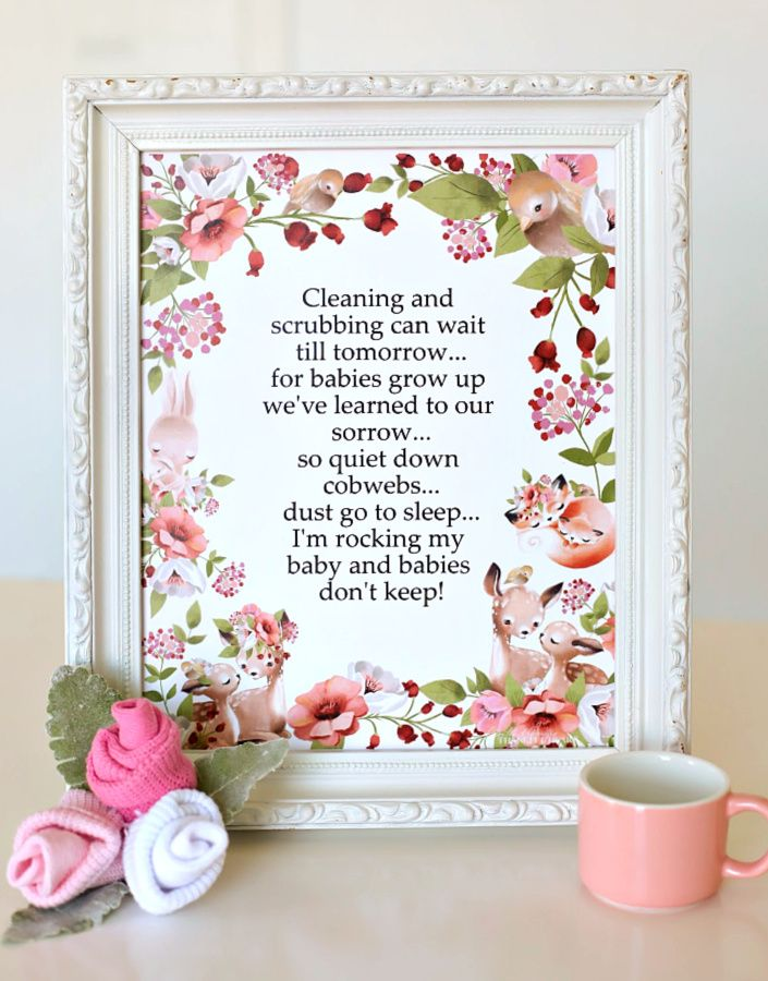 Jun 27, 2020 – Babies Don't Keep Poem Doesn't this sweet poem make a perfect gift for the Mom-to-Be! And a lovely additi…