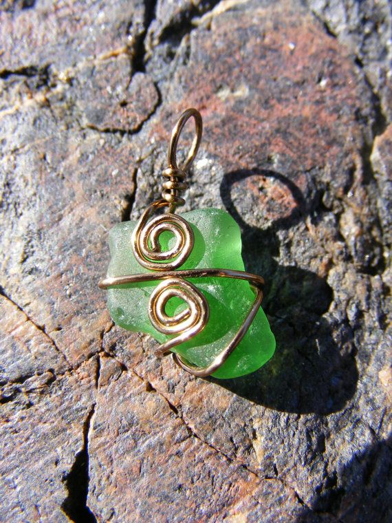 This sea glass was found on a beach near my home and is completely unaltered! Wear it and be reminded of rolling waves and fresh ocean air for tranquility all day long. // #seaglass #realseaglass #beachglass #realbeachglass #seaglassjewelry #seaglassjewellery #beachglassjewelry #seaglassnecklace #greenseaglass #greenbeachglass #beach #ocean #buyhandmade #shophandmade #handmade #etsy