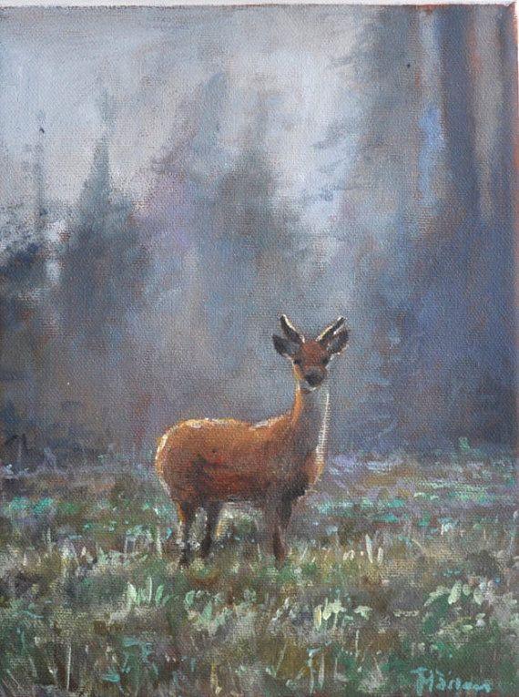 17 Best Ideas About Deer Paintings On Pinterest Deer