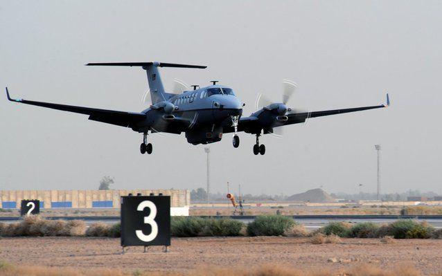MC-12W. Misiune: Modelul MC-12W este o aeronavă care colecteză infromaţii şi care este utilizată pentru misiunile de supraveghere şi recunoaştere.