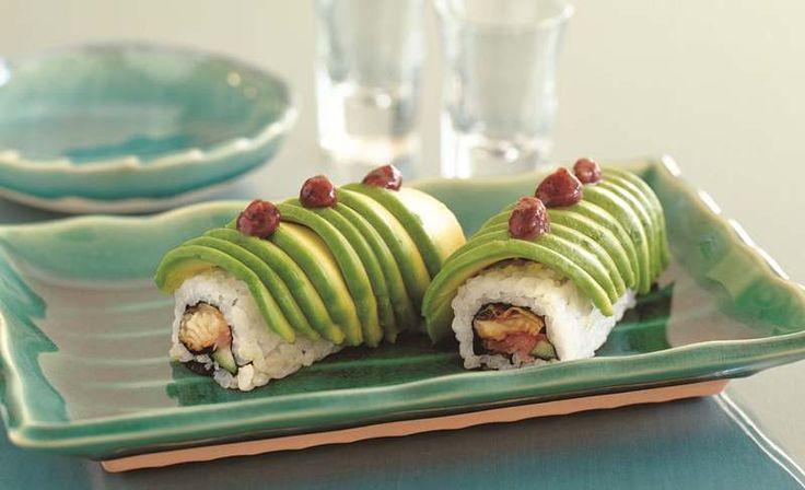 Avocado Dragon Rolls