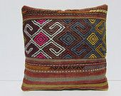 kilim pillow 18 tapestry pillow cover boho bedroom chair pillow case large floor cushion urban throw pillow ethnic rug bed pillow sham 30106