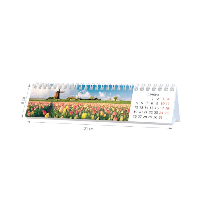 Настольные календари : Календарь «Домик в Амстердаме»