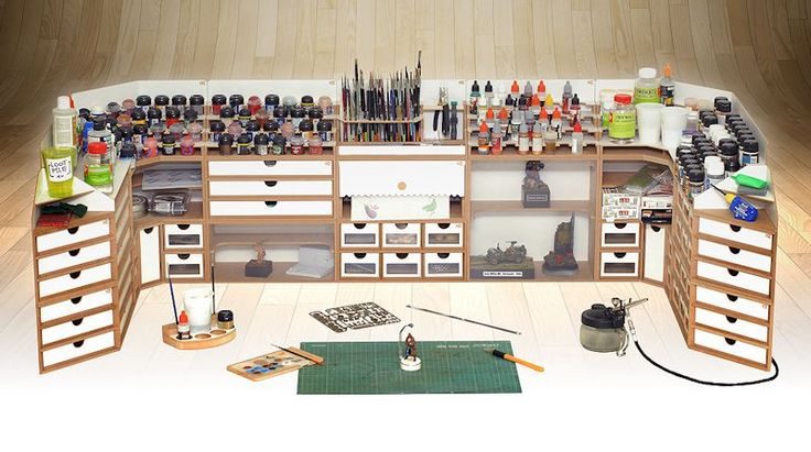 Something new and very interesting from Hobby Zone to help organize your model building area.