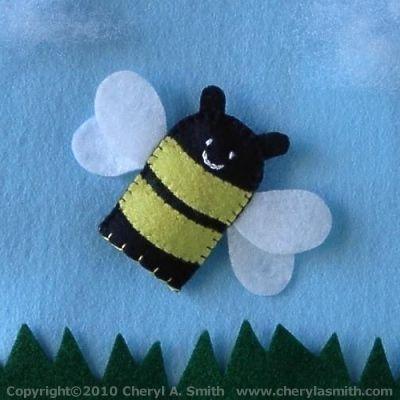 bee finger puppet template - best 25 felt finger puppets ideas on pinterest finger