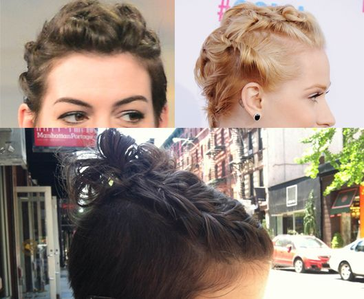 how i style my hair 5 simple ways to get through that awkward growing out hair 9333