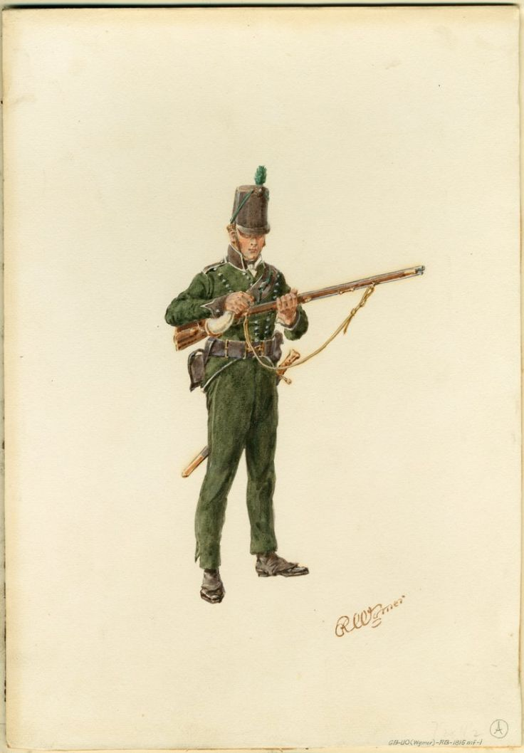Rifleman, 95th Regiment, 1815