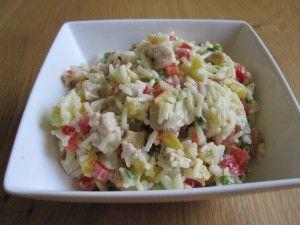 LEKKER: Rijstsalade met kip en cashewnoten