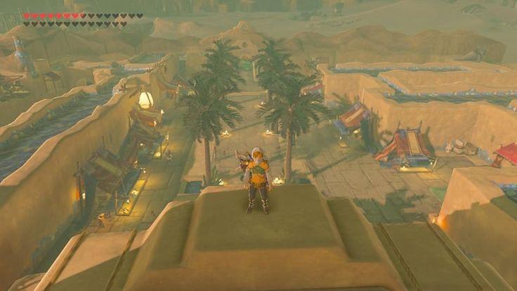 Legend Of Zelda Breath Of The Wild Gerudo City In 2020 Breath Of The Wild Legend Of Zelda City