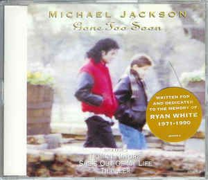 Michael Jackson - Gone Too Soon (CD) at Discogs