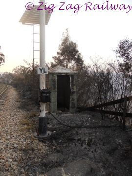 Relay hut and signal cable damage a | by zigzagrailway@yahoo.com.au