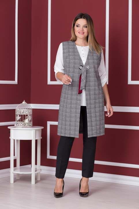 d92c9b622ce Коллекция женской одежды больших размеров белорусской компании Nadin N  осень-зима 2018-2019