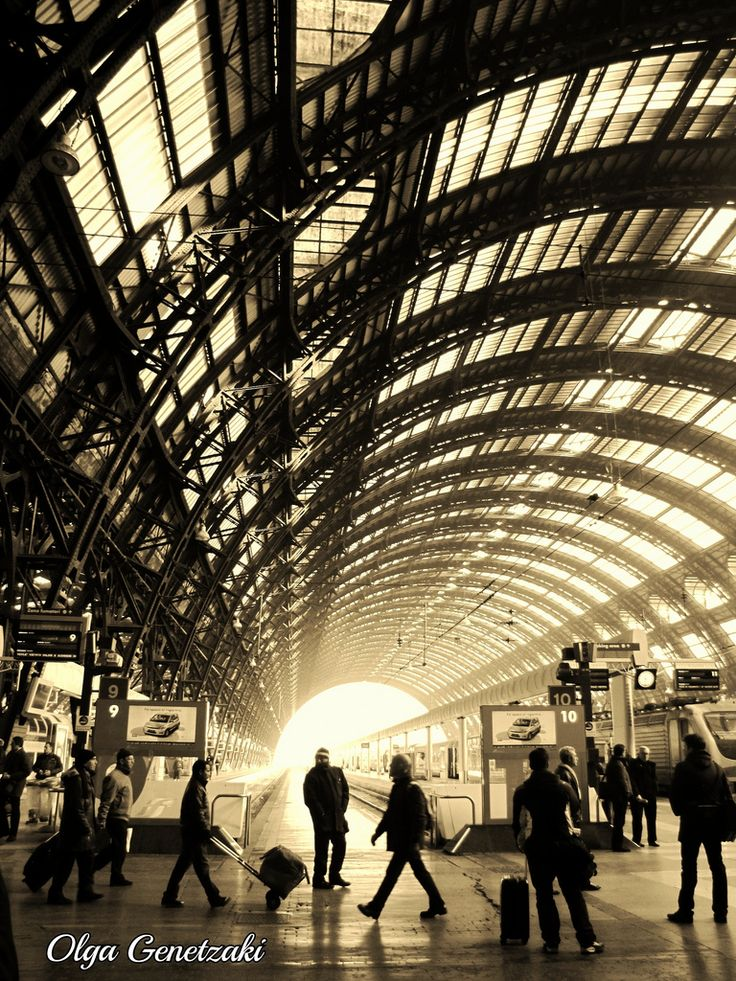 Train Station, Milan Italy #WonderfulExpo2015 #WonderfulMilan