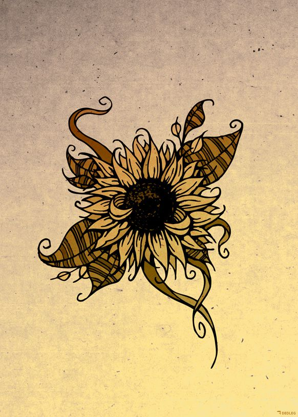 Tattoo sunflower text s k p google tattoos for Sunflower temporary tattoo