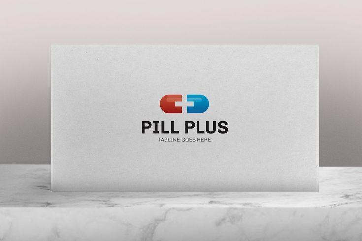 Pill Plus Logo auf dem Kreativmarkt
