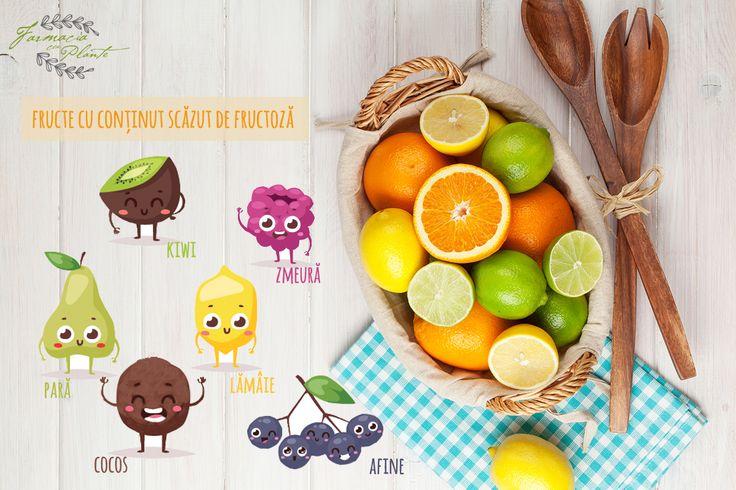 Fructe cu conținut scăzut de zahăr