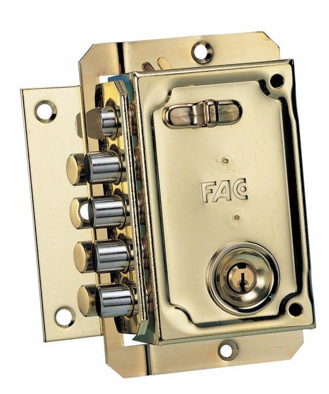Cerradura Seguridad Sobreponer 144x90mm  #cerraduraseguridad #cerradurasobreponer