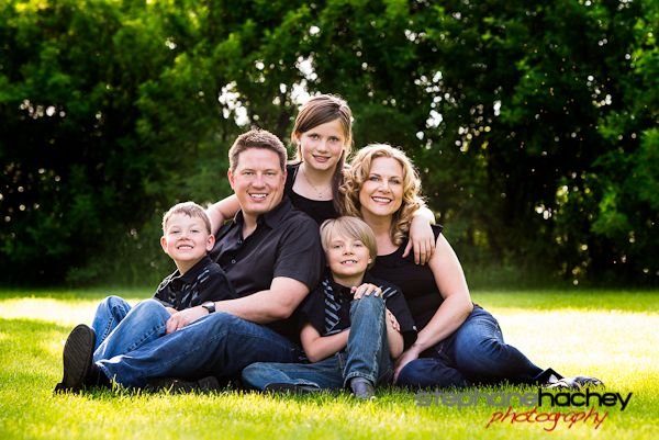 Family Of 5 Photography Poses | How to Get Awesome Family Photos (Stephane Hachey)