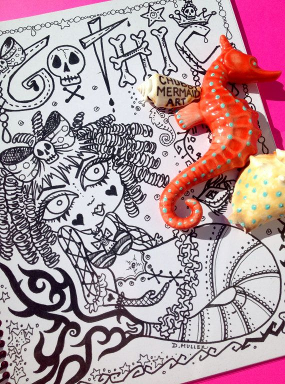118 best COLORING BOOKS BY CHUBBY MERMAID images on Pinterest