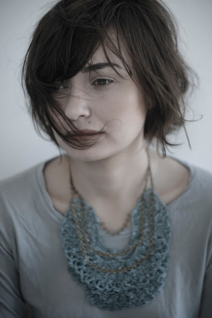 LeninkaCrochet Collars, Crochet Necklaces, Statement Necklaces, Messy Hair, Collars Jabot, Ecofashion Fashion Accessories, Fashion Inspiration, Hair Looks, Beautiful Crochet