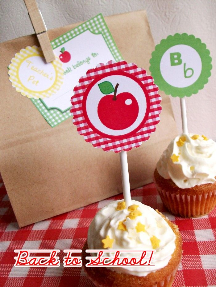 Bird's Party Blog -Back to School Printables