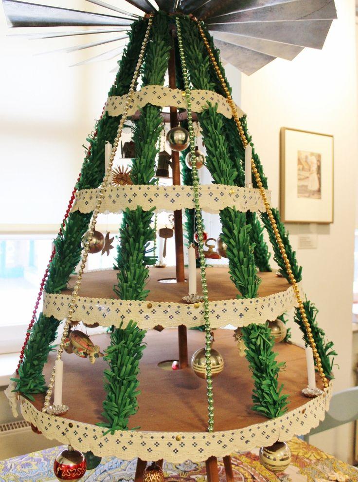 Christmas pyramid, Wendish Museum, Cottbus