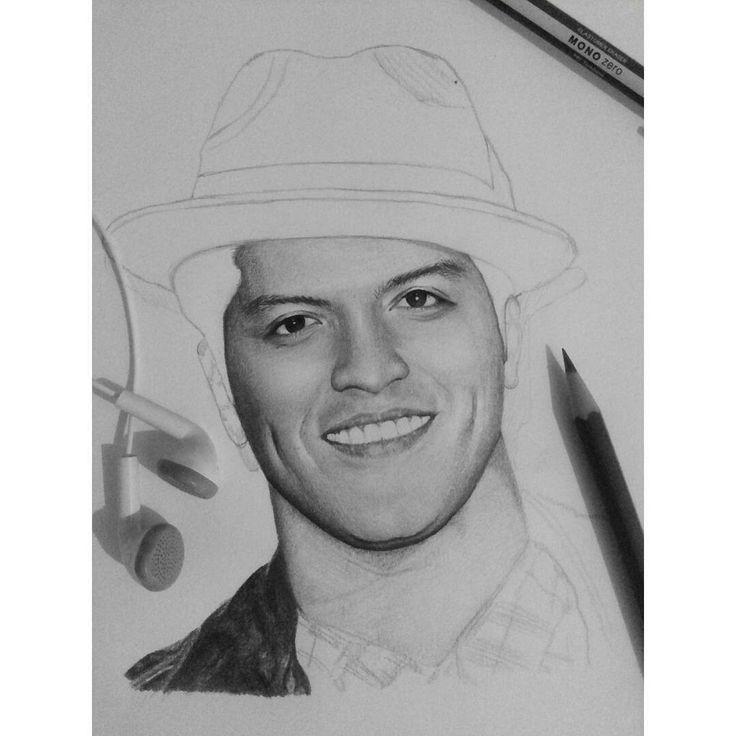 In progress  #1 #brunomars #sketch