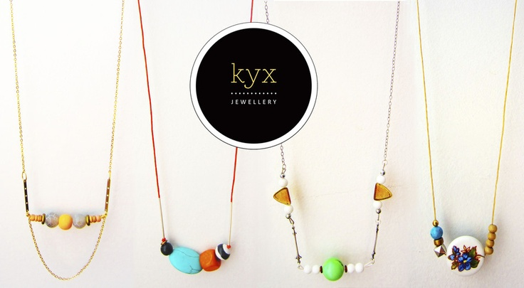 kyx jewellery now available at www.kesho.co.nz <3