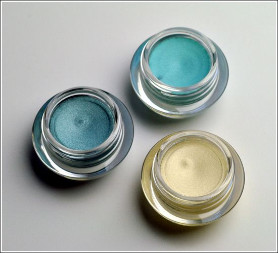 DIY Cream eyeshadow. Squeeze lotion (unscented) into container, add eyeshadow (loose) or a broken up one would work,  mix & Thats it! Your done! Ill have to try this!