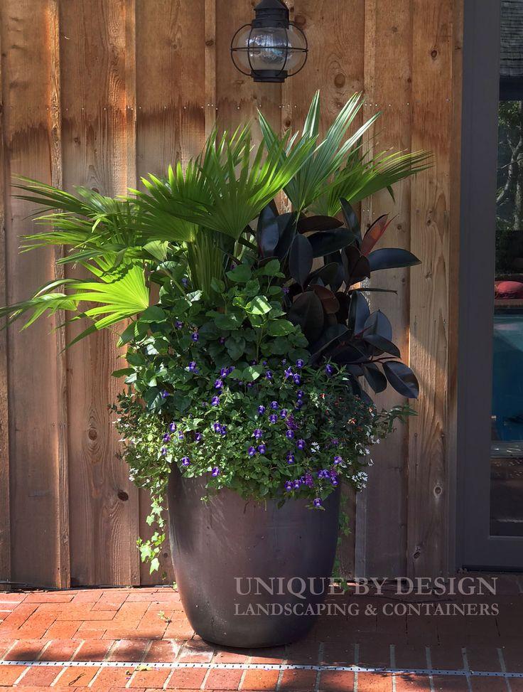 Pin de tina lopez en jardineria ideas pinterest for Jarrones decorativos para jardin