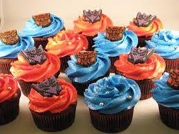 Resultado de imagen para cupcakes de transformers